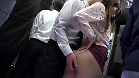 Best Japaness Butt in Train