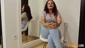 Lulu's husband has sent her here to HAVE HER ASS BROKEN by a young dick