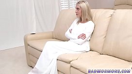 Blonde anal teen stretch and guy fucks mature milf boss'_s brother Rey
