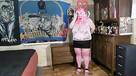 pink strip dance