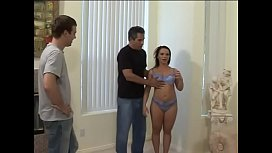 Randy big booty bitch Katja Kassin likes to feel her holes filled with hard dicks