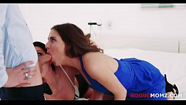MOM and DAUGHTER taste BFs dirty balls