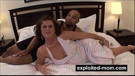 Sexy housewife swinger fucking black dude in Milf Porn Video