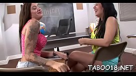 Slender girlie Alby Rydes enjoys sex activities