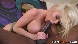 Blonde whore rides bbc