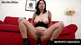 Smut Puppet - Matures Riding Huge Toys Anally Compilation Part 1