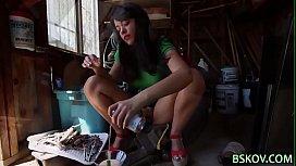 Ava Dalush sucking cock