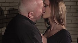 Anna G fucked hard by the horny old plumber