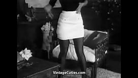 Charming Busty Girl Dance Striptease