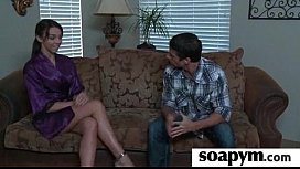 Soapy Massage End With a Big Cumshot 27