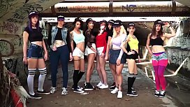 LETSDOEIT - Blonde Pornstar Seduces and Fucks Guy with GF Watching (Frida Sante &amp_ Georgie Lyall)