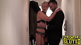 Scarla Swallows swallows cum after punishing anal sex