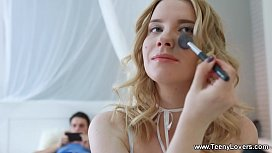 Teeny Lovers - Kiara Night - Teen taking a perfect creampie