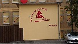 Outside FKK &amp_ Saunaclub Europa Leipzig Germany