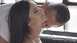 Perky gf wants that fat cock in her tight ass