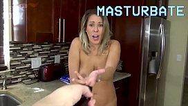 Son Controls Mom with Magic Remote Control - Son Mom to Fuck Him, POV - Mom Fucks Son, Sex, MILF - Nikki Brooks