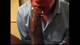 Milking Big Black Dick Properly