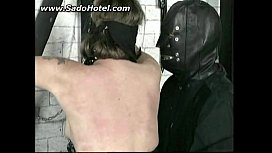 Mature girl tied and and getting punished