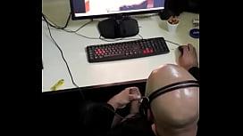 Espiado pajeandose Ciber Lavalle \/ caught at cyber 2