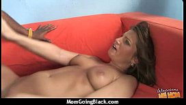 Mature Lady in Interracial Amateur Video 14
