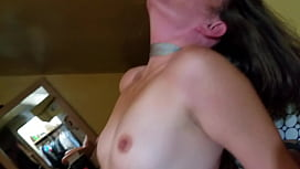 Trans with a crooked cock porn