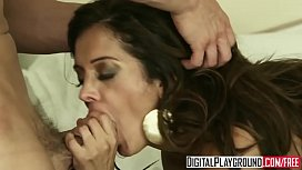 Hot Brunette milf (Francesca Le) gets pounded by (Erik Everhard) in her hairy pussy - Digital Playground