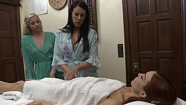 Jayden Cole Have Lesbian Sex After Massage