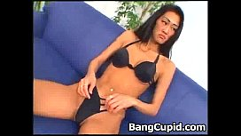 Asian Tolly Crystal gets double penetrated
