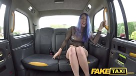 Fake Taxi Spanish chick Liz Rainbow loves anal fingering whilst fucking