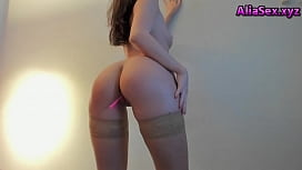 Pussy Cam Girl in Stockings Seductive on Aliasex.xyz