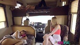 Katya Rodriguez, Lily Rader In Road Trip Ep 2