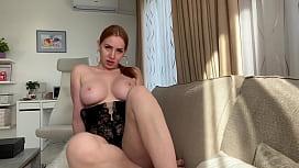Sexy Horny Kiara Lord Fucking Herself with Dildo
