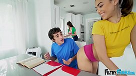 FILTHY FAMILY - Ricky Spanish's Threesome With Stepmom Lexi Luna and Step Sister Harmony Wonder