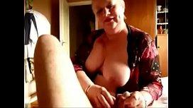 Sexy mature sucking cock