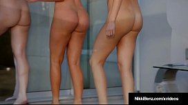 Girl Girl 3Way w/Penthouse Pets Nikki Benz Samantha &amp_ Angela