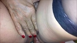 MATURE GRANNY  IN GYNECOLOGIST VISIT AT HOME