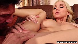 Christie Stevens As The Busty Blonde
