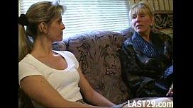 Woman sucking trans porn