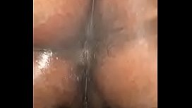 Ebony first time Anal prepping