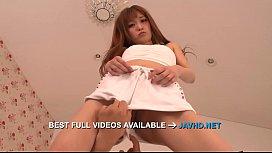 Sweetie Asian blowjob before a wild fuck Mikuru Shiina  - More at javhd.net