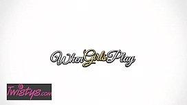 When Girls Play - (Kenna James, Megan Rain) - Making Music Together - Twistys