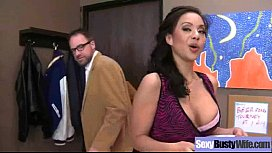 Hard Intercorse Action With Big Tits Slut Mommy (kimmy lee) clip-19