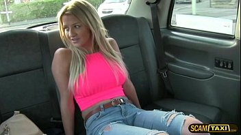 Gorgeous Sienna Is Pounded In The Taxi By The Hunk Taxi Driver thumbnail