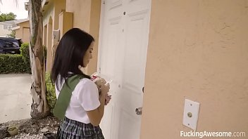 Fuckingawesome Scout Girl Megan Rain Gets Her Ass Fucked thumbnail