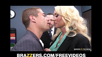 Incredibly Hot Blonde Summer Brielle Cant Resist Her Co Worker