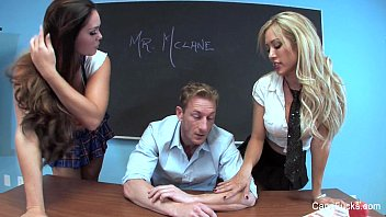 Eachers fucks students threesome Capri cavanni school fuck