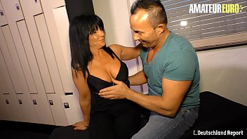 Amateur Euro Romanian Big Ass Milf Gabriela K Rides Her First German Hard Cock
