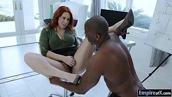 Bushy Redhead E dyn Blair Interracial Sex racial Sex