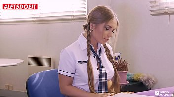 Letsdoeit - Horny Schoolgirl Gets Punished For Sneaking Into Principals Office