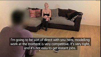 FakeAgentUK Filthy hot euro girl in anal casting 11 min